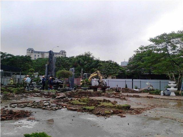 Cưỡng chế công trình xây dựng trái phép trên đất vàng 9