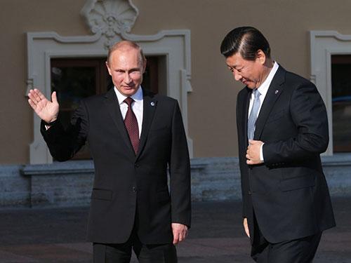"""Mỹ khiến quan hệ Nga-Trung """"nồng ấm"""" 6"""