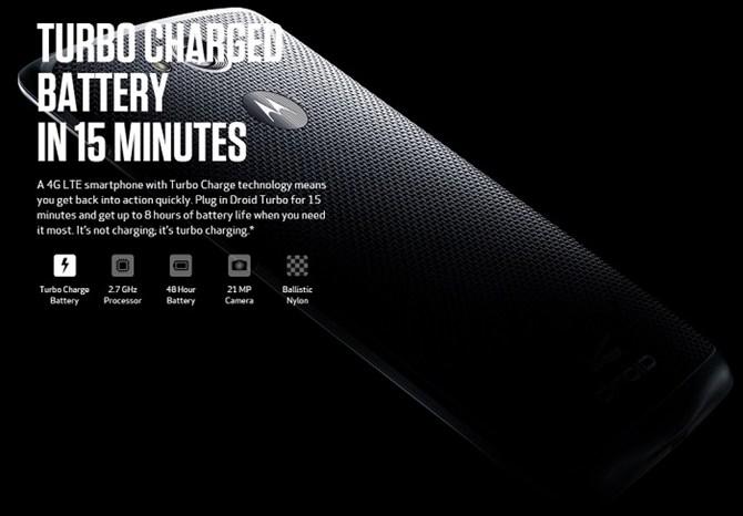 Motorola Droid Turbo ra mắt với pin khủng dùng tới 48 giờ 5