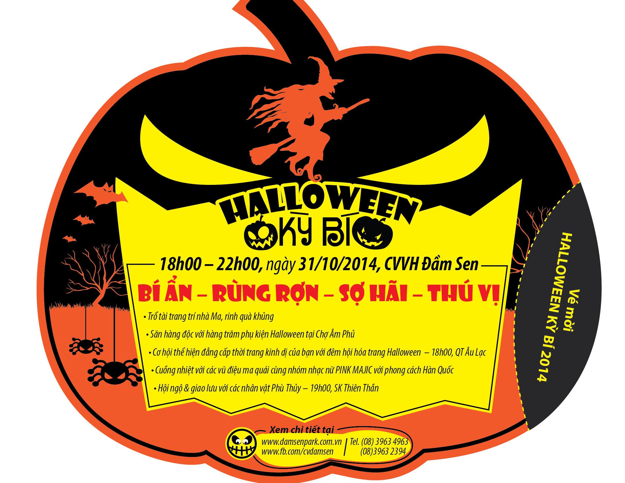 Halloween 2014: Những địa điểm chơi Halloween ở Sài Gòn, Hà Nội 6