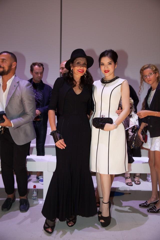 Lý Nhã Kỳ mời nữ tỉ phú thế giới tham dự show thời trang bạc tỉ 7