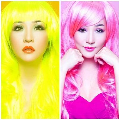 Thúy Nga hóa tóc vàng, tóc đỏ xinh như búp bê Barbie 5