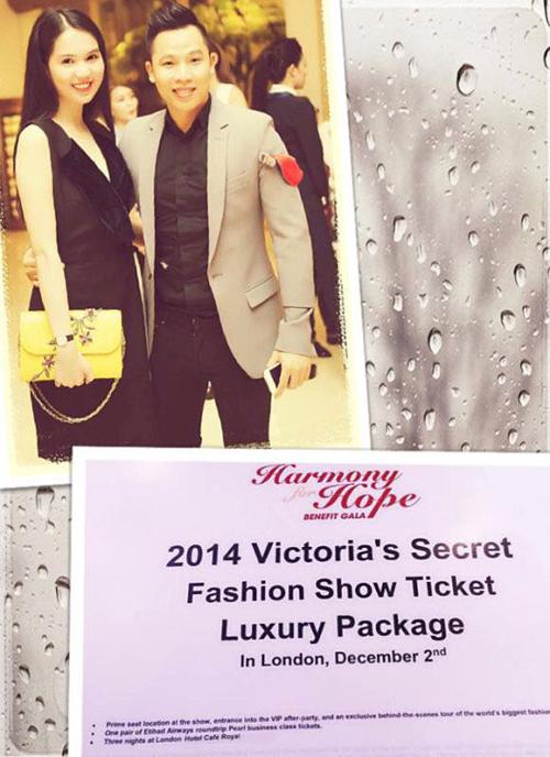 Ngọc Trinh và ông bầu mạnh tay chi 600 triệu mua vé Victoria's Secret 6