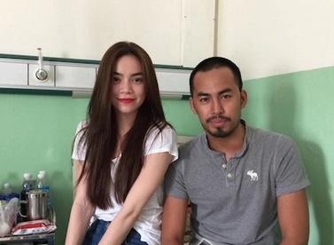 Hồ Ngọc Hà đến thăm Duy Nhân trong nghi án ly thân Cường đô la 5