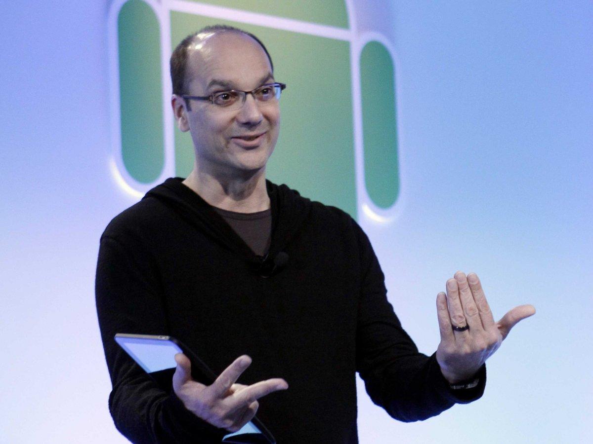 Andy Rubin – người sáng lập ra Android chính thức rời khỏi Google 6