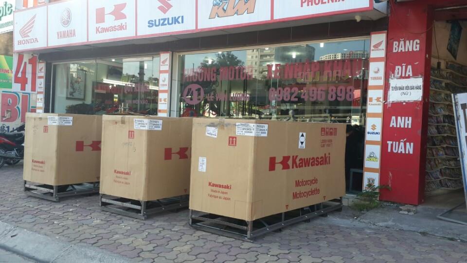 Lộ diện lô hàng Kawasaki Z1000 2014 cực khủng tại Hà Nội 7