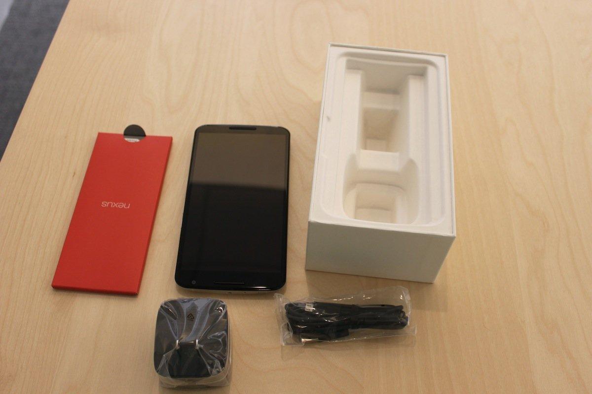 Mở hộp Google Nexus 6 được đặt hàng qua Play Store tại Mỹ 8