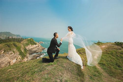 Cùng ngắm bộ ảnh cưới đẹp như mơ của Quỳnh Nga và Doãn Tuấn 8