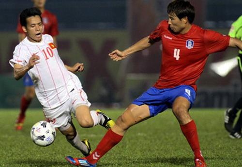 Xem bóng đá trực tuyến ĐT Việt Nam vs SV Hàn Quốc ngày 4/11 1
