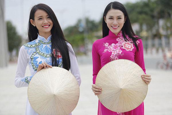 Lộ diện 2 'gà cưng' Vũ Khắc Tiệp đi thi Hoa hậu Việt Nam 2014 5