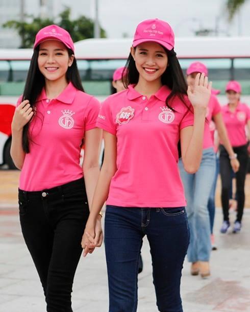 Lộ diện 2 'gà cưng' Vũ Khắc Tiệp đi thi Hoa hậu Việt Nam 2014 6