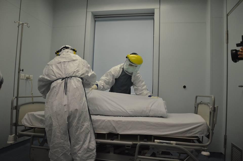 Diễn tập: Phát hiện bệnh nhân Ebola ở sân bay Nội Bài 6