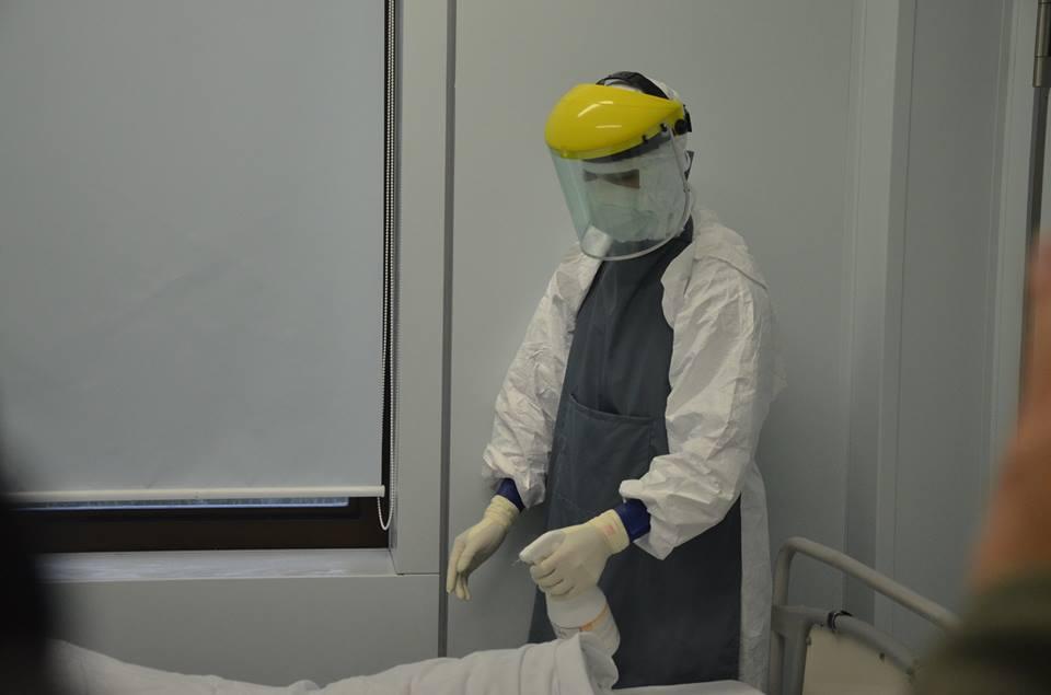 Diễn tập: Phát hiện bệnh nhân Ebola ở sân bay Nội Bài 7