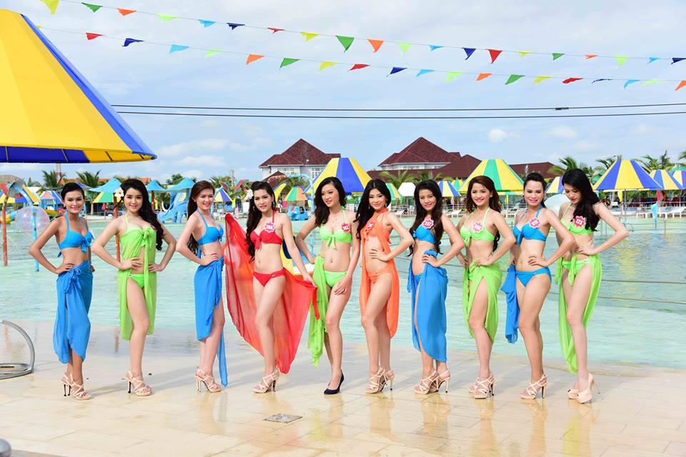 Cận cảnh dàn thí sinh Hoa hậu Việt Nam 2014 5