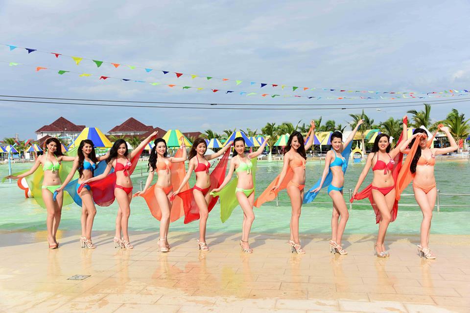 Cận cảnh dàn thí sinh Hoa hậu Việt Nam 2014 6
