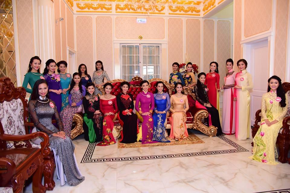 Cận cảnh dàn thí sinh Hoa hậu Việt Nam 2014 8
