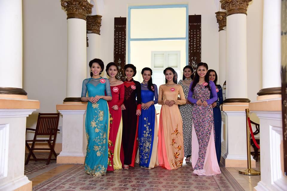 Cận cảnh dàn thí sinh Hoa hậu Việt Nam 2014 11