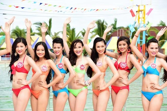 Cận cảnh dàn thí sinh Hoa hậu Việt Nam 2014 7