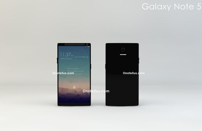 Galaxy Note 5 sẽ sử dụng màn hình AMOLED độ phân giải 4K 5