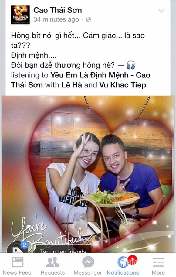 Cao Thái Sơn hẹn hò với thí sinh Hoa hậu Việt Nam 2014 5