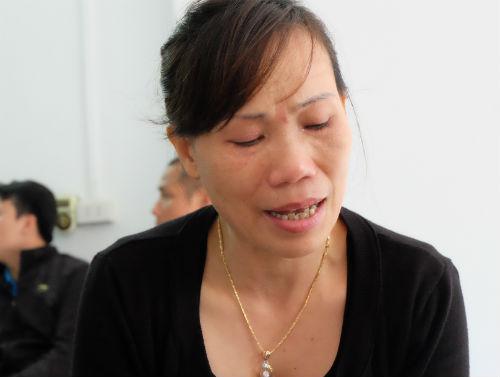 Hình ảnh Vụ thép rơi chết người: Vợ trẻ không muốn tin chồng đã mất số 3