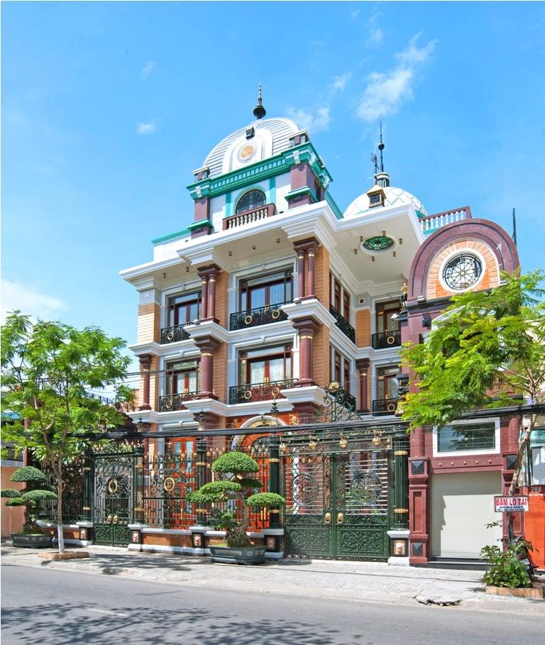 Khối nhà hàng, biệt thự của đại gia Đà Nẵng Huy