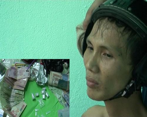 Đối tượng ngáo đá bị bắt, phát hiện tàng trữ lượng ma túy khủng 5