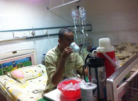 Duy Nhân chia sẻ tình hình sức khỏe sau đợt hóa trị đầu tiên  5