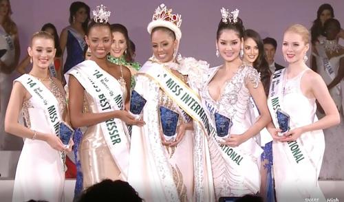 Đặng Thu Thảo lép vế tại chung kết Hoa hậu Quốc tế 2014 6