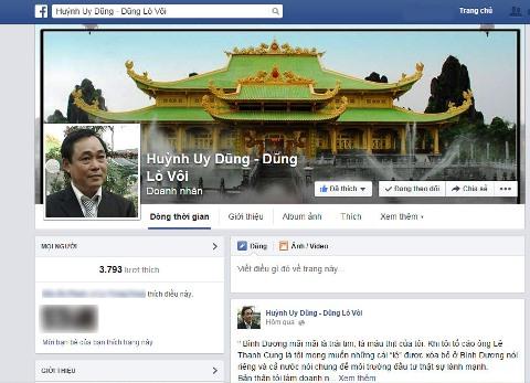 """Đại gia Dũng """"lò vôi"""" tố cáo kẻ mạo danh lập tài khoản Facebook 6"""