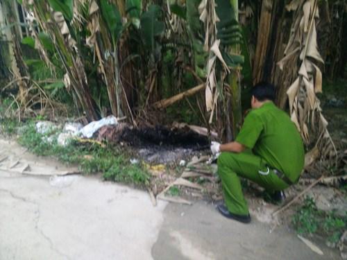 Điều tra vụ thi thể bị đốt cháy trong bụi chuối 4