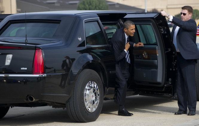 Khám phá các rào an ninh tối tân bảo vệ Obama  8