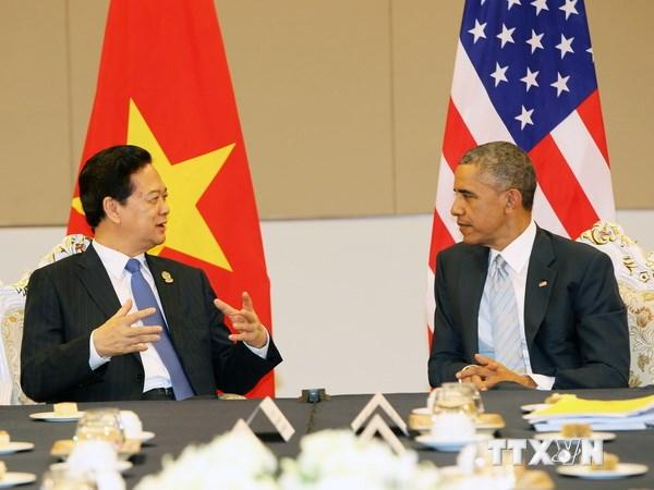 Thủ tướng Nguyễn Tấn Dũng gặp chính thức Tổng thống Obama 5