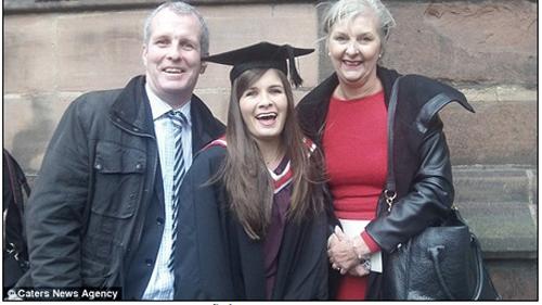 Nữ sinh bị u não vẫn tốt nghiệp đại học loại ưu 8