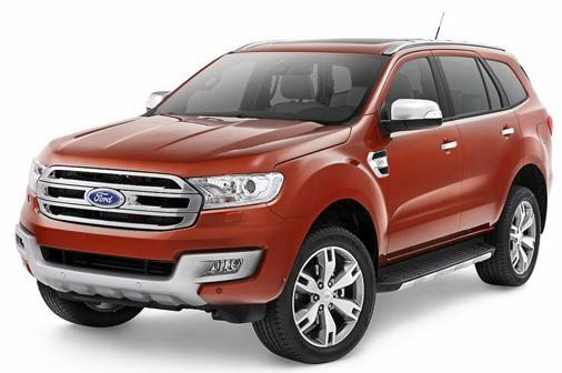 Ford Everest 2015 chính thức lộ diện 5