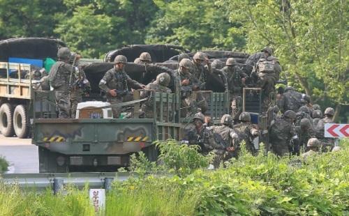 Triều Tiên cảnh báo Hàn Quốc 'phải trả giá bằng máu'  5