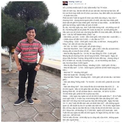 """Ông bầu Đan Trường tố liveshow Mỹ Tâm """"nổ"""" 6"""