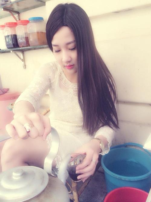 Sự thật về hot girl trà đá Hà Nội khiến dân mạng sôi sục 5