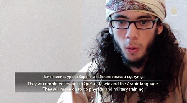 IS tung video đào tạo chiến binh nhí tại Kazakhstan 6