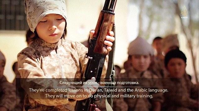 IS tung video đào tạo chiến binh nhí tại Kazakhstan 7