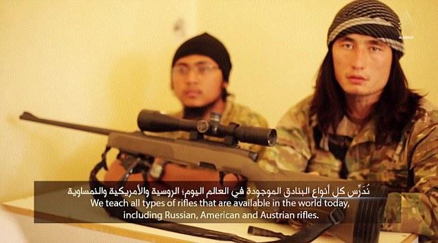 IS tung video đào tạo chiến binh nhí tại Kazakhstan 8