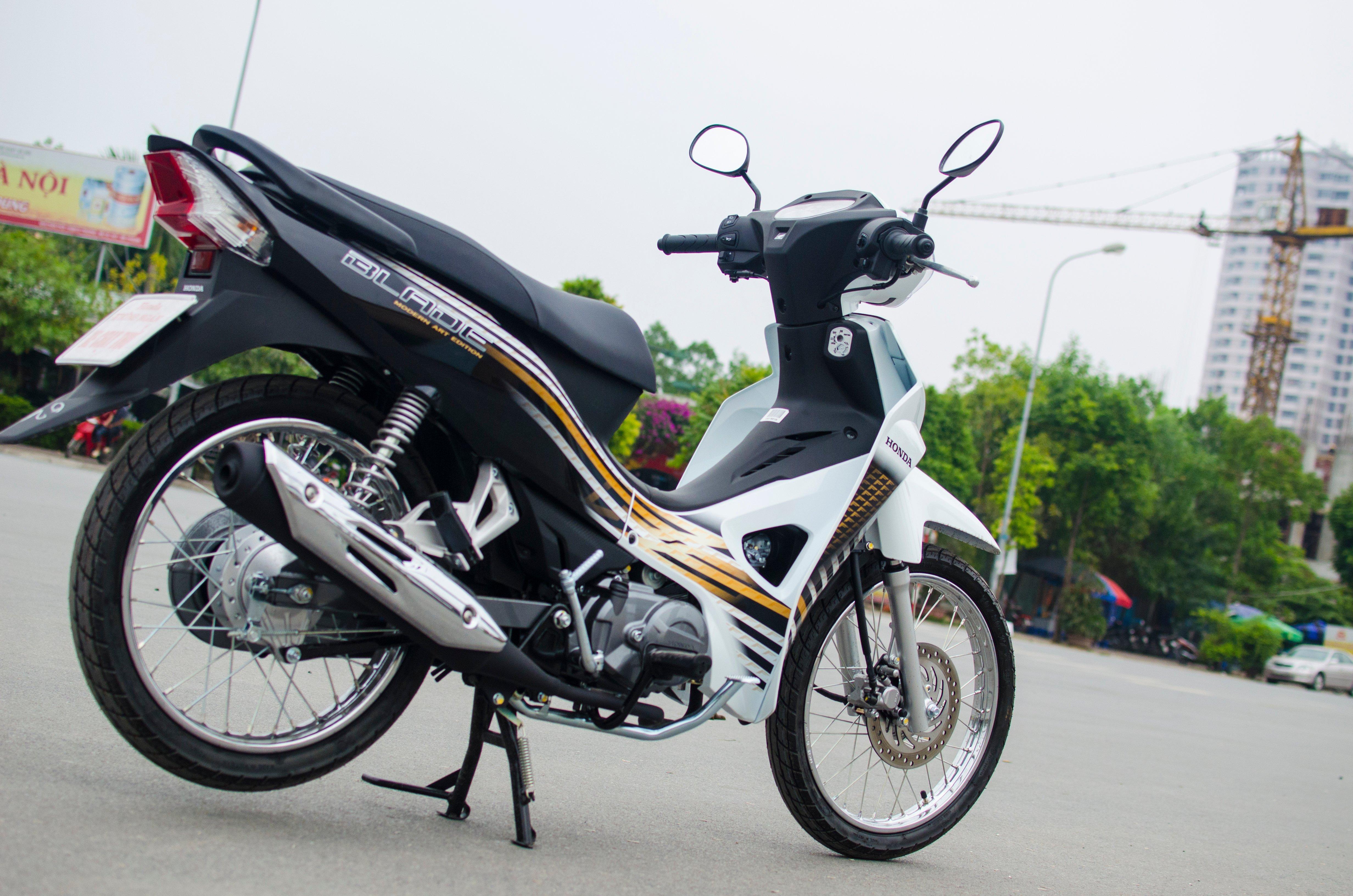 Đánh giá Honda Blade 110 : Vừa đủ cho nhu cầu 6