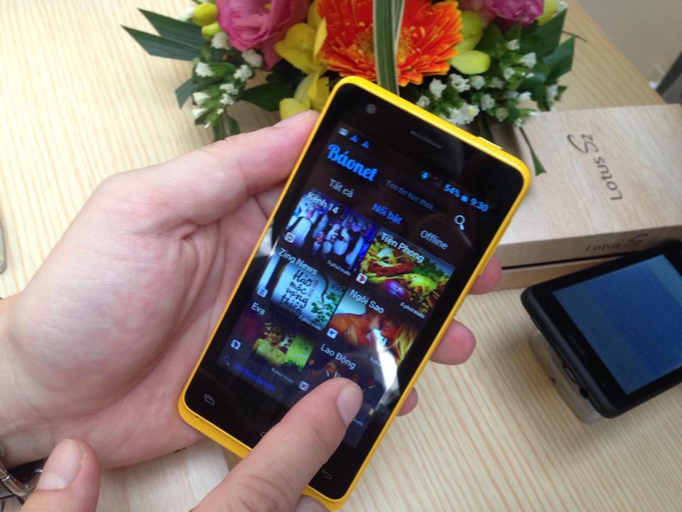 VIVAS Lotus S2 - smartphone thương hiệu Việt 5