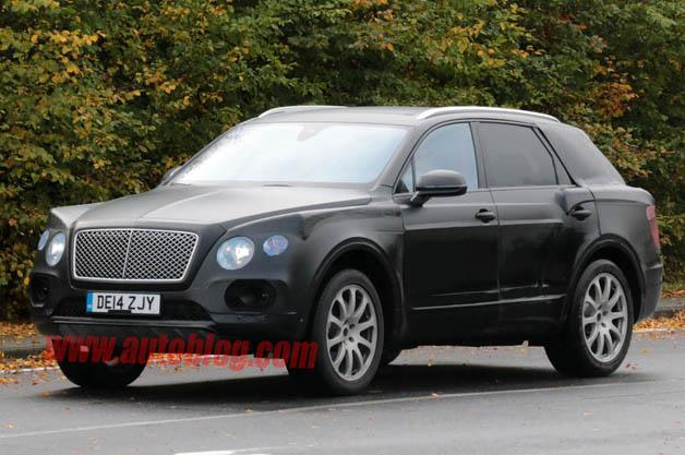 Bentley Bentayga : Chiếc SUV hạng sang của Bentley 5