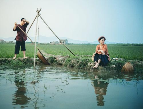 Bộ ảnh cưới độc đáo, giản dị của cặp đôi Việt Kiều Pháp 5