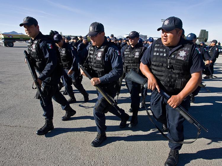 Mexico tuyên bố giải tán lực lượng cảnh sát trên toàn quốc 6