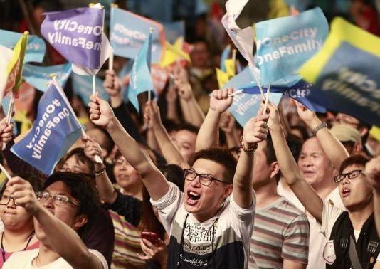 Đảng ủng hộ Trung Quốc tại Đài Loan thất bại thảm hại 6