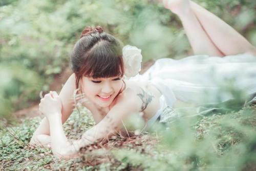 Nữ sinh xinh đẹp giống Hoa hậu Hà Kiều Anh 'đốn tim' dân mạng 12