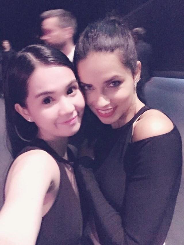 Ngọc Trinh được đón tiếp như khách VIP tại Victoria's Secret Show 6