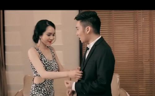 Quang Hà ghen tuông với vợ mới Thiên Kim 5